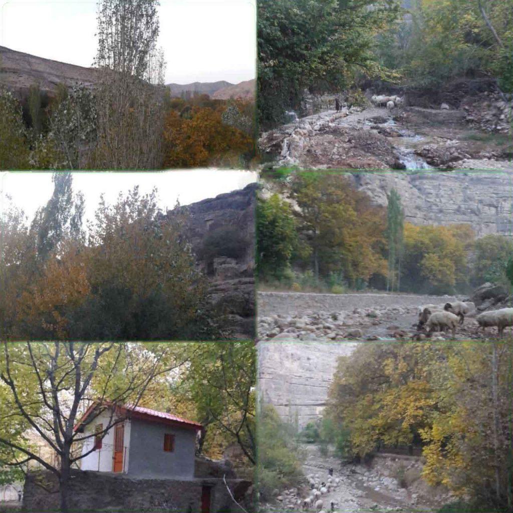 روستای گرماب تصویر 6 تایی
