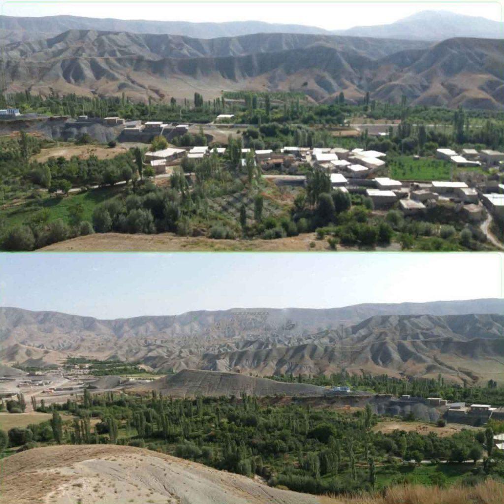 روستای سیرسپرانلو علیا طبیعت تابستانی