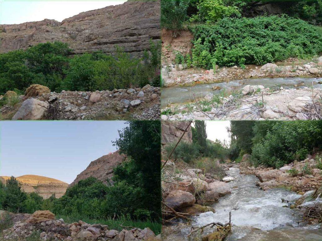 روستای گرماب سرسبزی طبیعتش