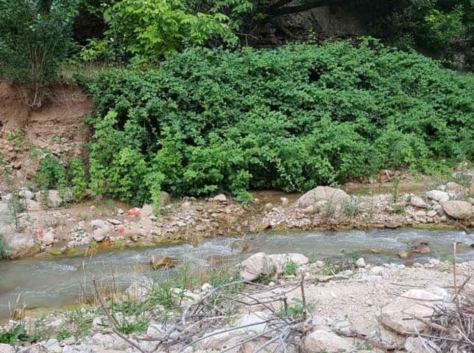 هدر پست روستای گرماب شیروان