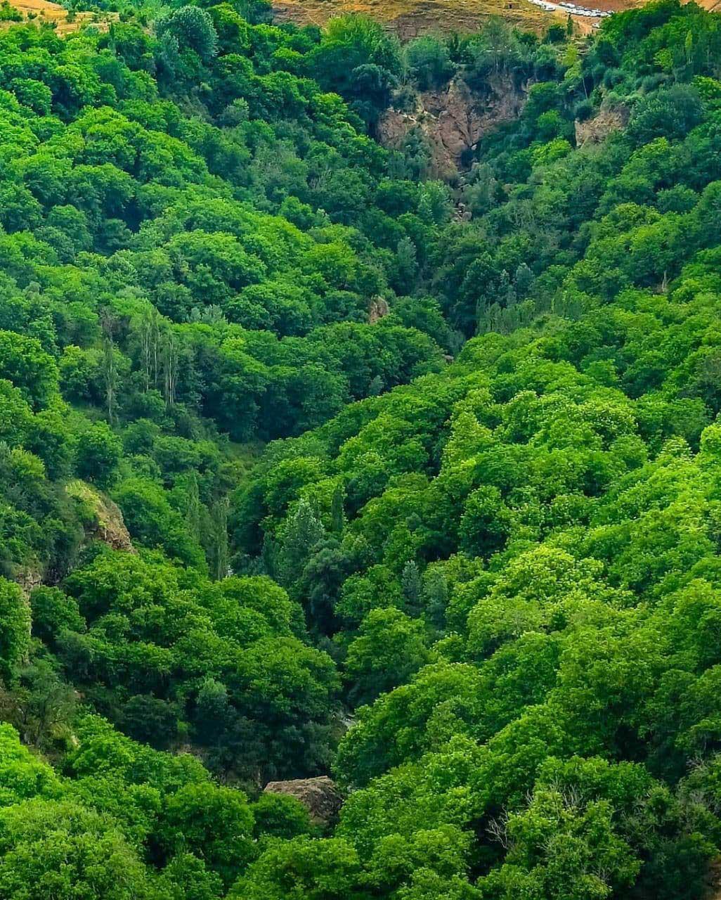 طبیعت روستای اسطرخی خراسان شمالی